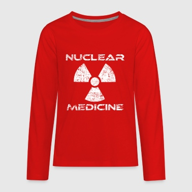 Shop nuclear long sleeve shirts online spreadshirt for Nuclear medicine t shirts