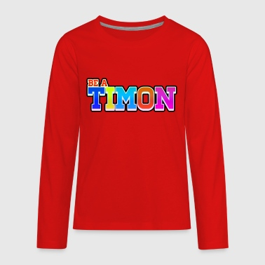 TimonKidsEdition | Colorful Desing - Kids' Premium Long Sleeve T-Shirt
