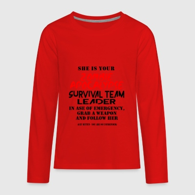 Zombie apocalypse - Kids' Premium Long Sleeve T-Shirt