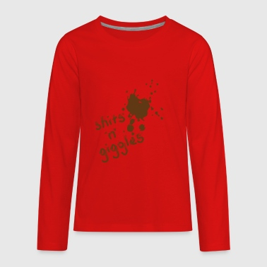 SHITS 'n' giggles - Kids' Premium Long Sleeve T-Shirt