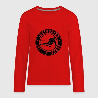 Ski Instructor - Kids' Premium Long Sleeve T-Shirt
