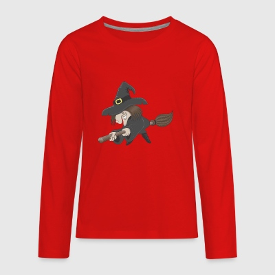 whitch_on_bloom - Kids' Premium Long Sleeve T-Shirt