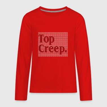 Top creep - Kids' Premium Long Sleeve T-Shirt