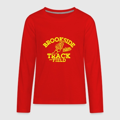 Brookside Track and Field - Kids' Premium Long Sleeve T-Shirt