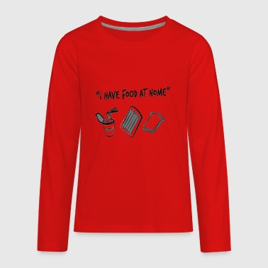 Food AT Home - Kids' Premium Long Sleeve T-Shirt