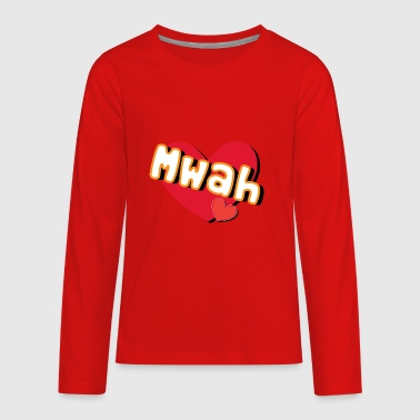 mwah - Kids' Premium Long Sleeve T-Shirt
