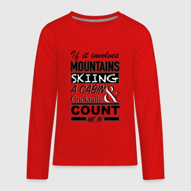 COUNT ME IN - Kids' Premium Long Sleeve T-Shirt