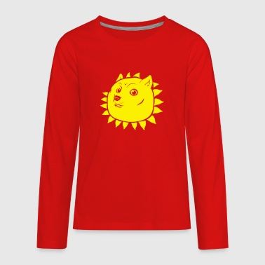 Shining Doge - Kids' Premium Long Sleeve T-Shirt