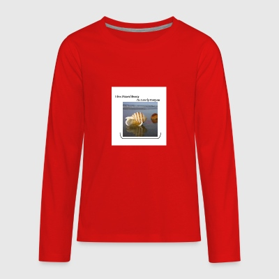 Natural Beauty - Kids' Premium Long Sleeve T-Shirt