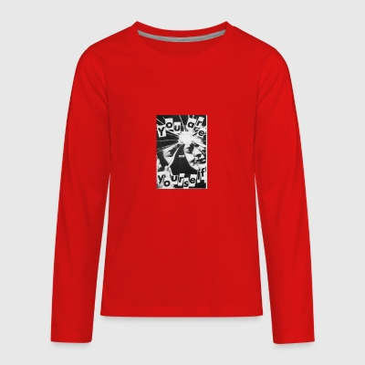 YOU r not YOURSELF - Kids' Premium Long Sleeve T-Shirt