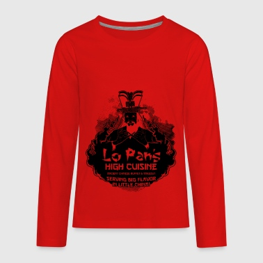 Lo Pan s High Cuisine - Kids' Premium Long Sleeve T-Shirt