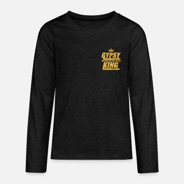 The gypsy king boxer - Kids' Premium Longsleeve Shirt