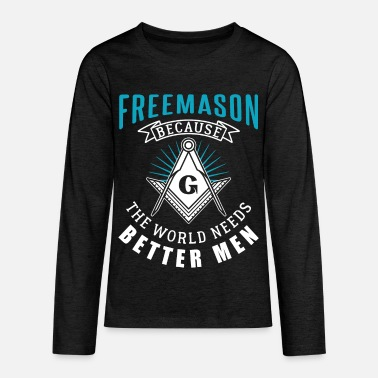 Secret Society Masonic secret society men - Kids' Premium Longsleeve Shirt