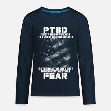 Tom PTSD - Kids' Premium Longsleeve Shirt