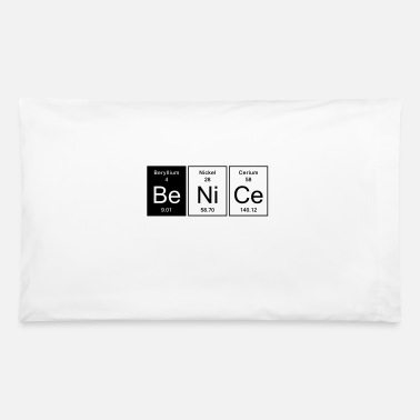Nice Nice - Be Nice - Pillowcase