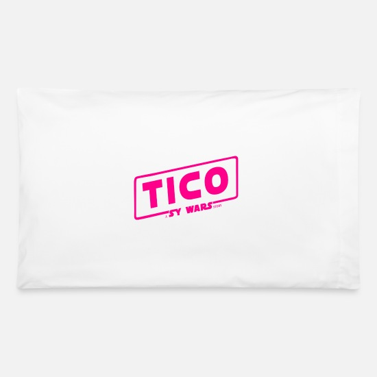 Death Star Pillow Cases - TICO a Sy Wars Story - Pillowcase 32'' x 20'' white