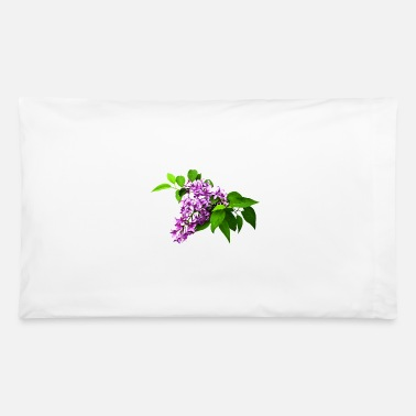 Lilac Lilacs and Leaves - Pillowcase