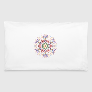 A colorful filigree Kaleidoscope_99 - Pillowcase