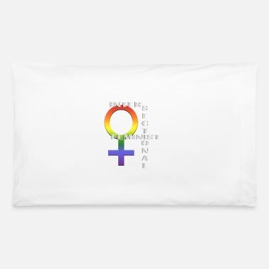Intersectional Feminist - Pillowcase