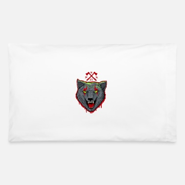 Bloody Bloody Wolf - Pillowcase 32'' x 20''