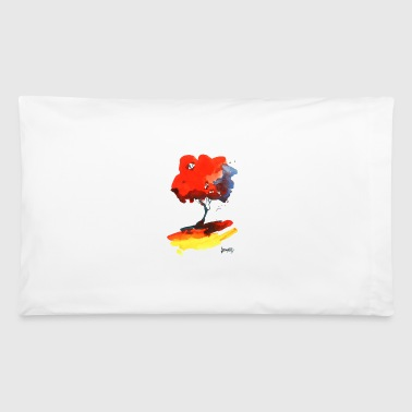 Pillowcases Red Tree with Yellow Ground - Pillowcase