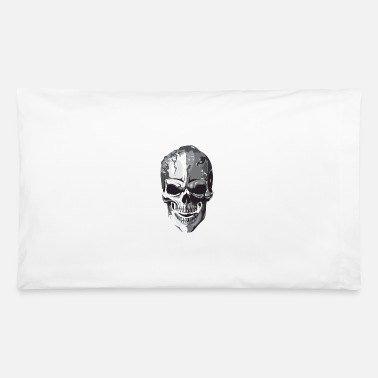 Silver Skull - Pillowcase