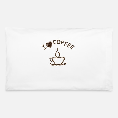 Coffee Bean Coffee Beans - Pillowcase 32'' x 20''