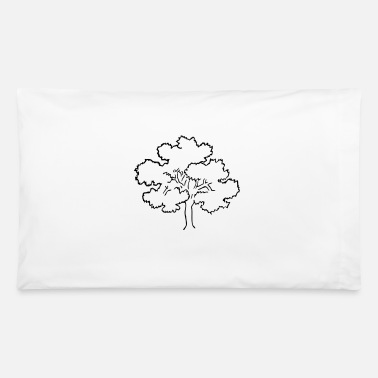 Oak Oak tree - Pillowcase 32'' x 20''
