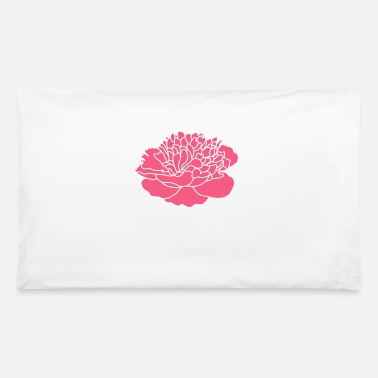 Nicsquirrell Pink Peony Flower - Pillowcase 32'' x 20''