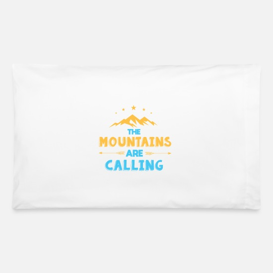 Mountain Running Pillow Cases - mountains - Pillowcase 32'' x 20'' white