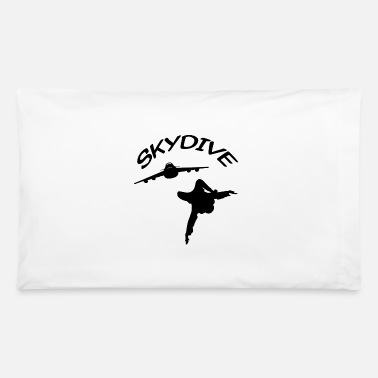 Skydive Skydive Skydiver Free Fall Skydiving - Pillowcase 32'' x 20''