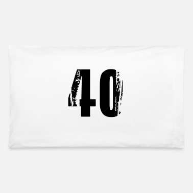 40 - Number - Pillowcase 32'' x 20''