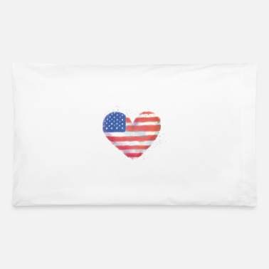 American Indian american, independence, day, usa, us, nation, july - Pillowcase 32'' x 20''