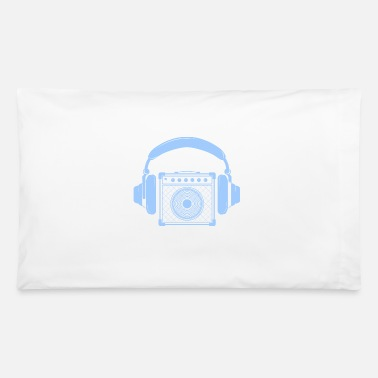 Amplifier Amplifier with Headphones Music Design - Pillowcase 32'' x 20''