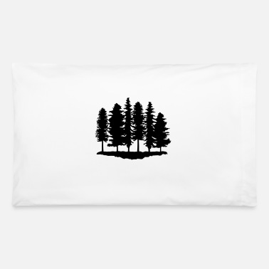 Tree Forest, Trees, Tree - Pillowcase 32'' x 20''
