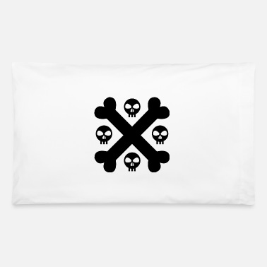 Crossed Bones Crossed Bones Skull - Pillowcase 32'' x 20''