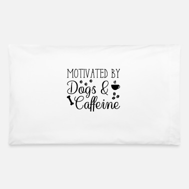 Coffee Bean Dogs And Caffeine - Pillowcase 32'' x 20''