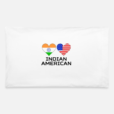 American Indian Indian American Hearts - Pillowcase