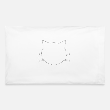 White Kitty - Pillowcase 32'' x 20''