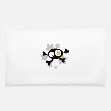 Asterisk Skull with asterisks - Pillowcase 32'' x 20''