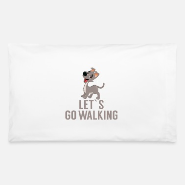 Go Gassi Dog cute gassi go - Pillowcase 32'' x 20''