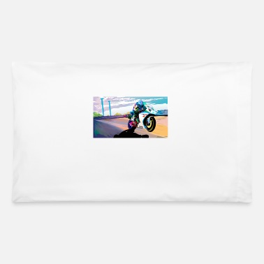 Motion MOTORCYCLE IN MOTION - Pillowcase