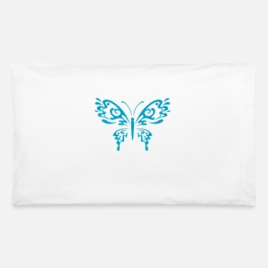 Funny butterfly insect wildlife vector image - Pillowcase