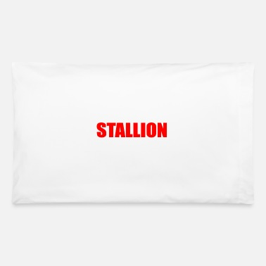Stallion stallion - Pillowcase 32'' x 20''