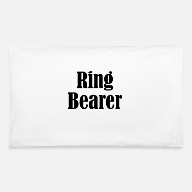 Wedding Day Ring Bearer, Wedding Ring, Wedding Day - Pillowcase 32'' x 20''