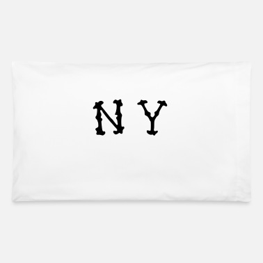 Ny NY - Pillowcase 32'' x 20''