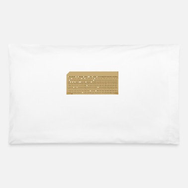 Punch punched card2 - Pillowcase