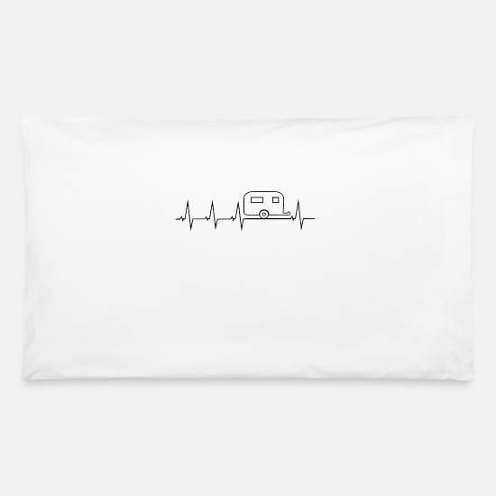 Trailer Pillow Cases - camper - Pillowcase 32'' x 20'' white