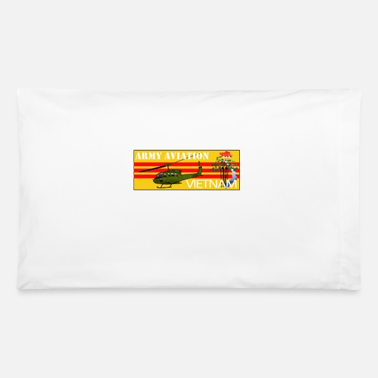 Army Pillow Cases - Army Aviation Vietnam - Pillowcase 32'' x 20'' white