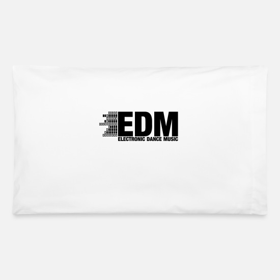 Jungle Pillow Cases - ELECTRO,DUBSTEP,EDM,MUSIC,DANCE,ELECTRONIC,MINIMAL - Pillowcase 32'' x 20'' white